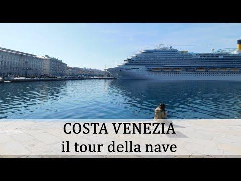 Costa Venezia - Il Tour Della Nave
