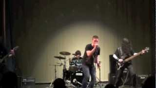Скачать Riverside High School 2012 Talent Show Amon Amarth Death In Fire Band Cover