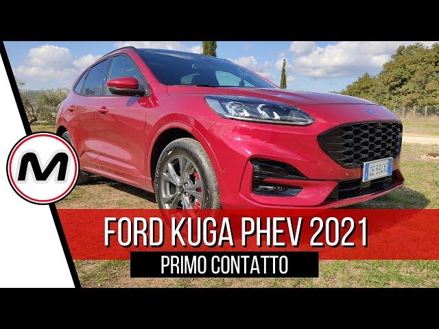 FORD KUGA PHEV 2021 | Primo contatto con il SUV ibrido plug-in