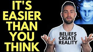 How to Believe Something You Don't Currently Believe (The Secret)