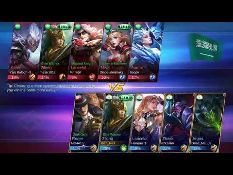 Team Effort - Mobile Legends: Bang Bang 5 vs 5.