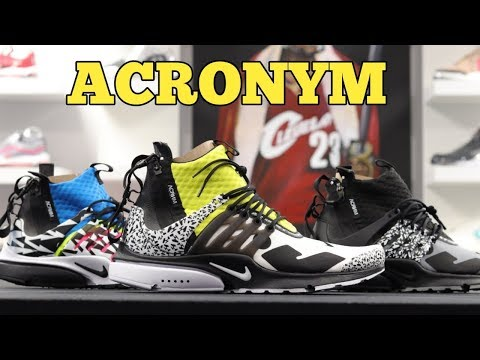 buy online 33d07 a992f ... MID UTILITY - Reviewon feet - sneakerkult sneakerkult · ACRONYM x NIKE  AIR PRESTO quotDYNAMIC ...
