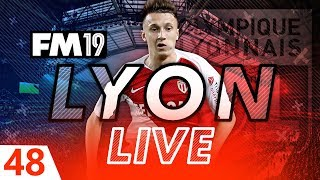 Football Manager 2019 | Lyon Live #48: Steadying the Ship #FM19