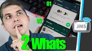 2 Whatsapp com Chips Diferentes no mesmo Celular - CanalJMS
