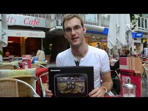 Lenovo IdeaPad K1 Unboxing - Deutsch