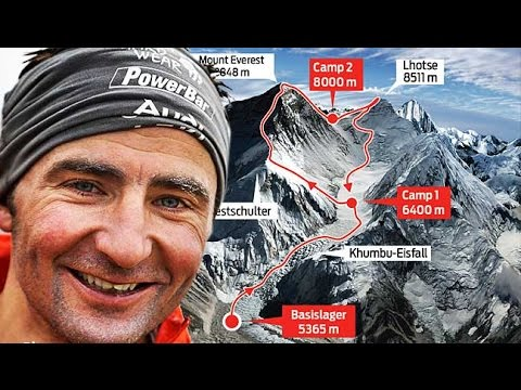 Ueli Steck Dies in Fall Near Everest