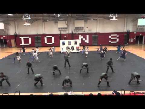 Arroyo High School 2013 Winterguard Love Is Half The Battle