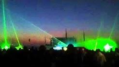 """Lasershow """"in Flammen"""" maz mühlengeez"""
