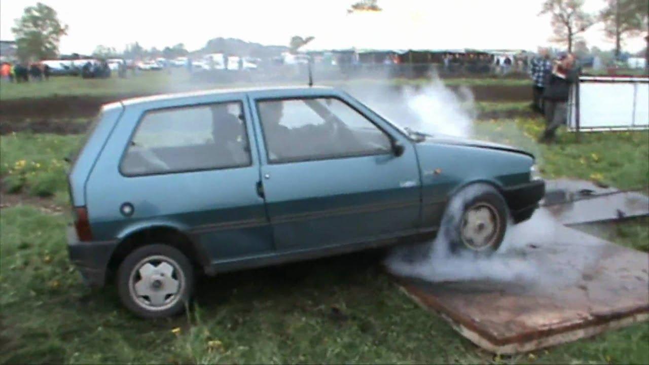 Fiat Uno Burnout Youtube