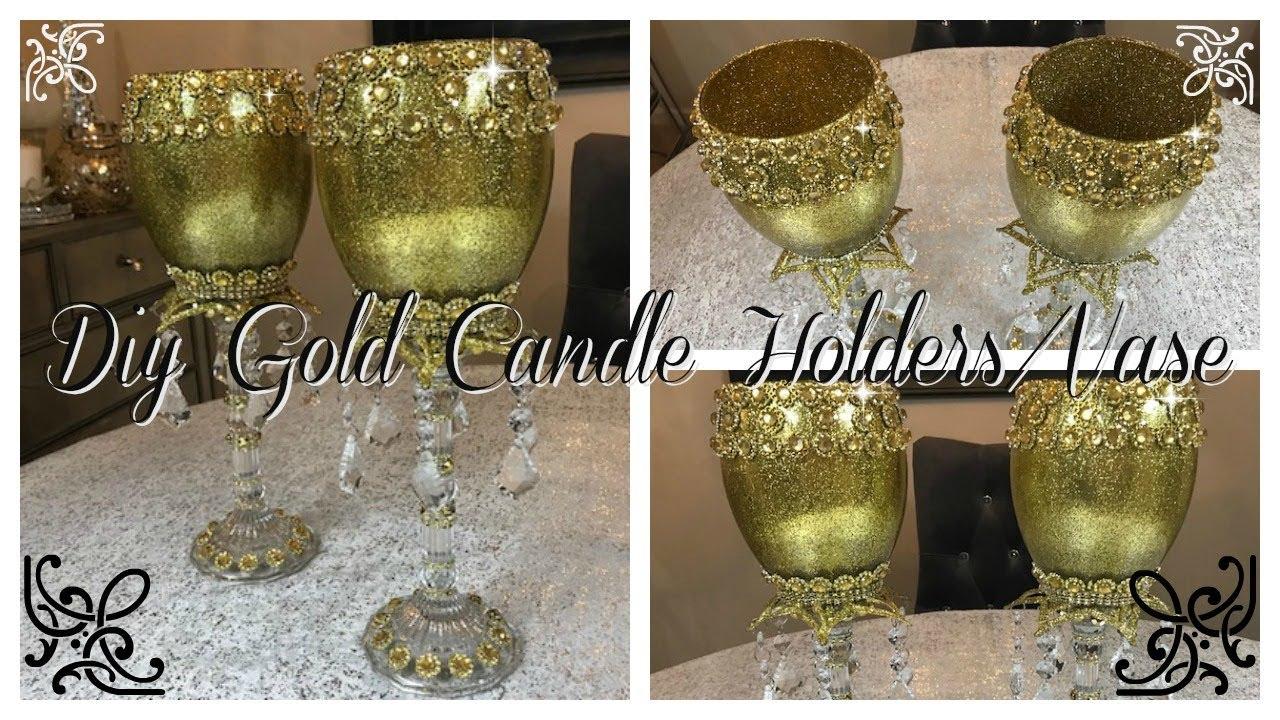 Candle Vase Centerpieces