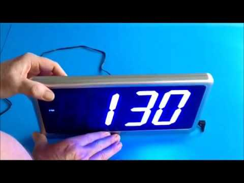 Ivation Big Time Digital LED Clock Review A great clock for an
