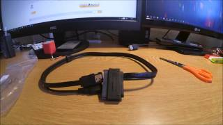Cable eSATA con alimnetacion usb + datos 2.5In Hard Drive SATA To eSATA Data + USB Powered Cable