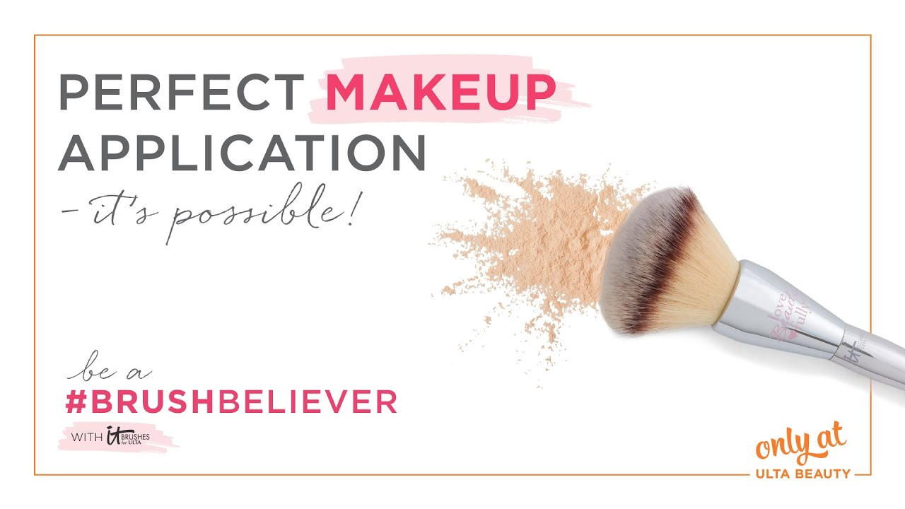 #BrushBeliever: How To Get Perfect Makeup Application With Brushes | Ulta Beauty