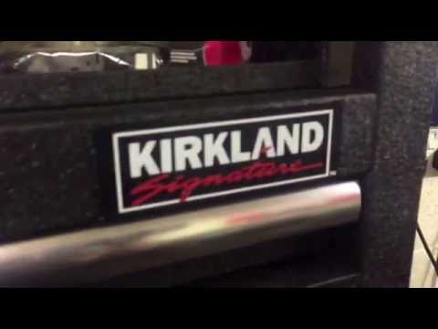 Kirkland signature Costco tool box 18 months on