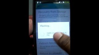 How to Install TWRP Recovery in Nokia XL.