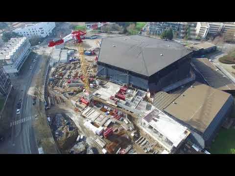 [Timelapse] De la construction à la rénovation du Palais des sports de Beaulieu