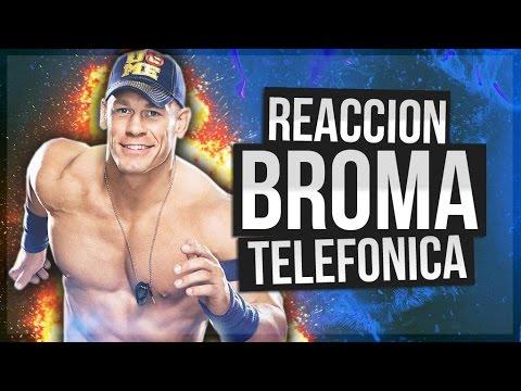 Broma Telefónica John Cena   REACCIÓN QUEREMOS WWE