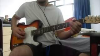 Pearl Jam - Do the Evolution (guitar cover)