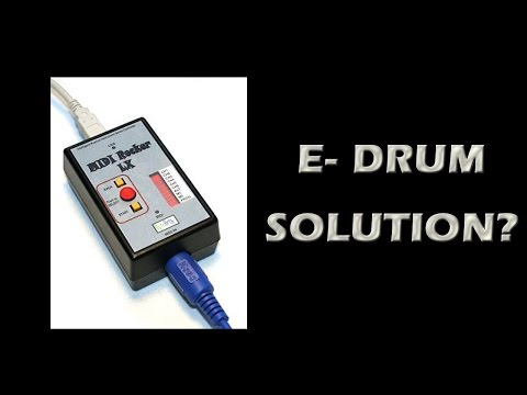 Rock Band 4: Solution For Electronic Drums & Ion Kits? Ion Drum Adapter From PDP!