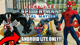 [150MB] How To Download Ultimate Spider-Man : Total Mayhem Lite in any android device in just 150MB