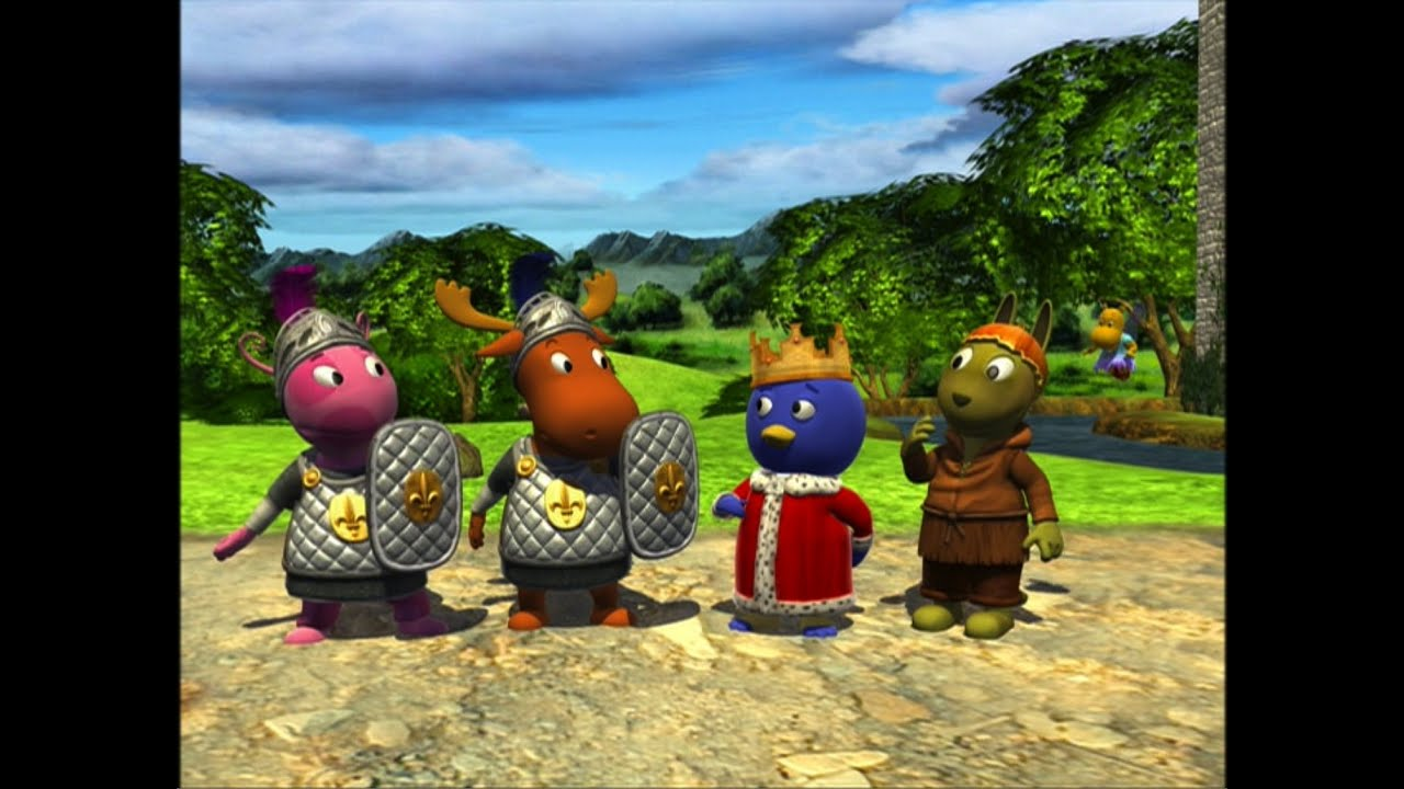 The Backyardigans Tale Of The Mighty Knights