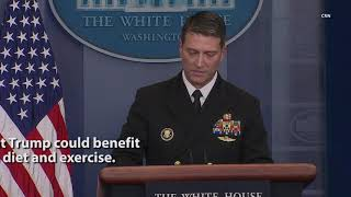 President Trump's Physical Exam Results Released