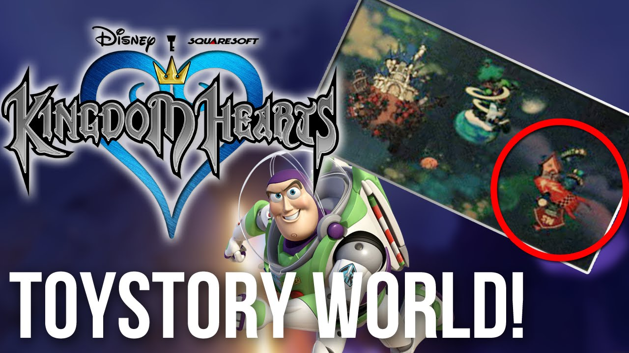 Kingdom Hearts Was Going To Get A Toy Story World Youtube