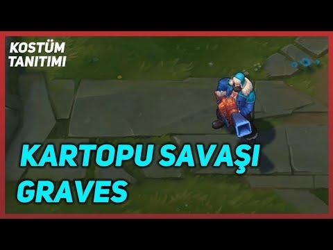 Kartopu Savaşı Graves (Kostüm Tanıtımı) League of Legends