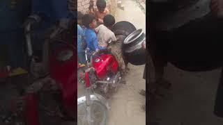 Very funny children fun of Punjab Pakistan