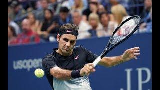 Federer vs Kohlschreiber - US Open 2017 - Top 10 Best Points + Match Point