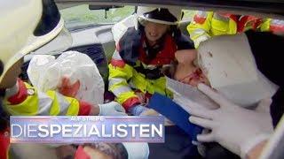 Horror-Crash: Wird das ungeborene Baby den Aufprall überleben? | Auf Streife | SAT.1 TV