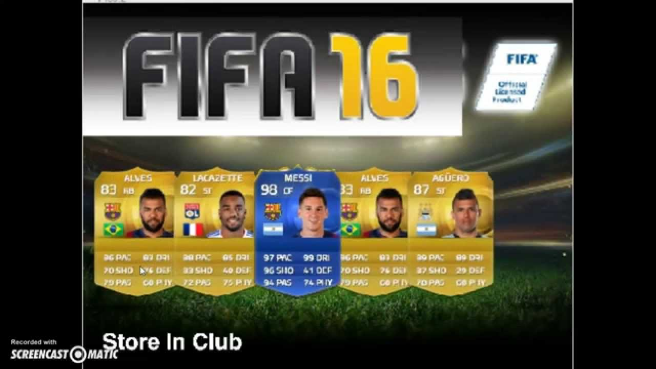 Fifa 16 opening simulator