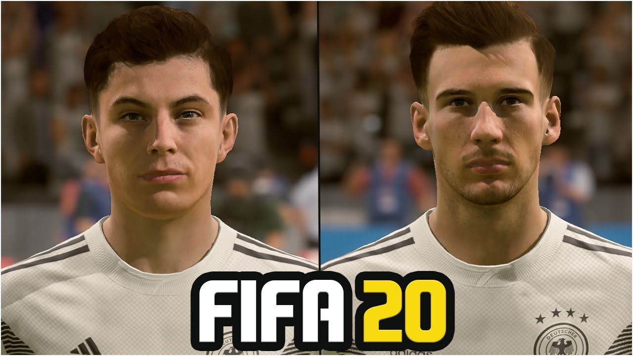 FIFA 20 | ALL GERMANY PLAYERS REAL FACES