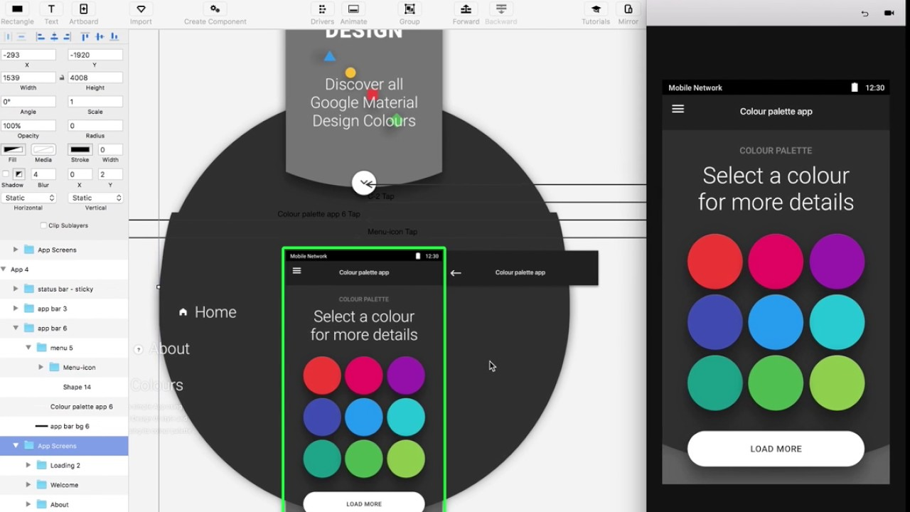 A practical Guide to UI Animation with Principle app for Mac