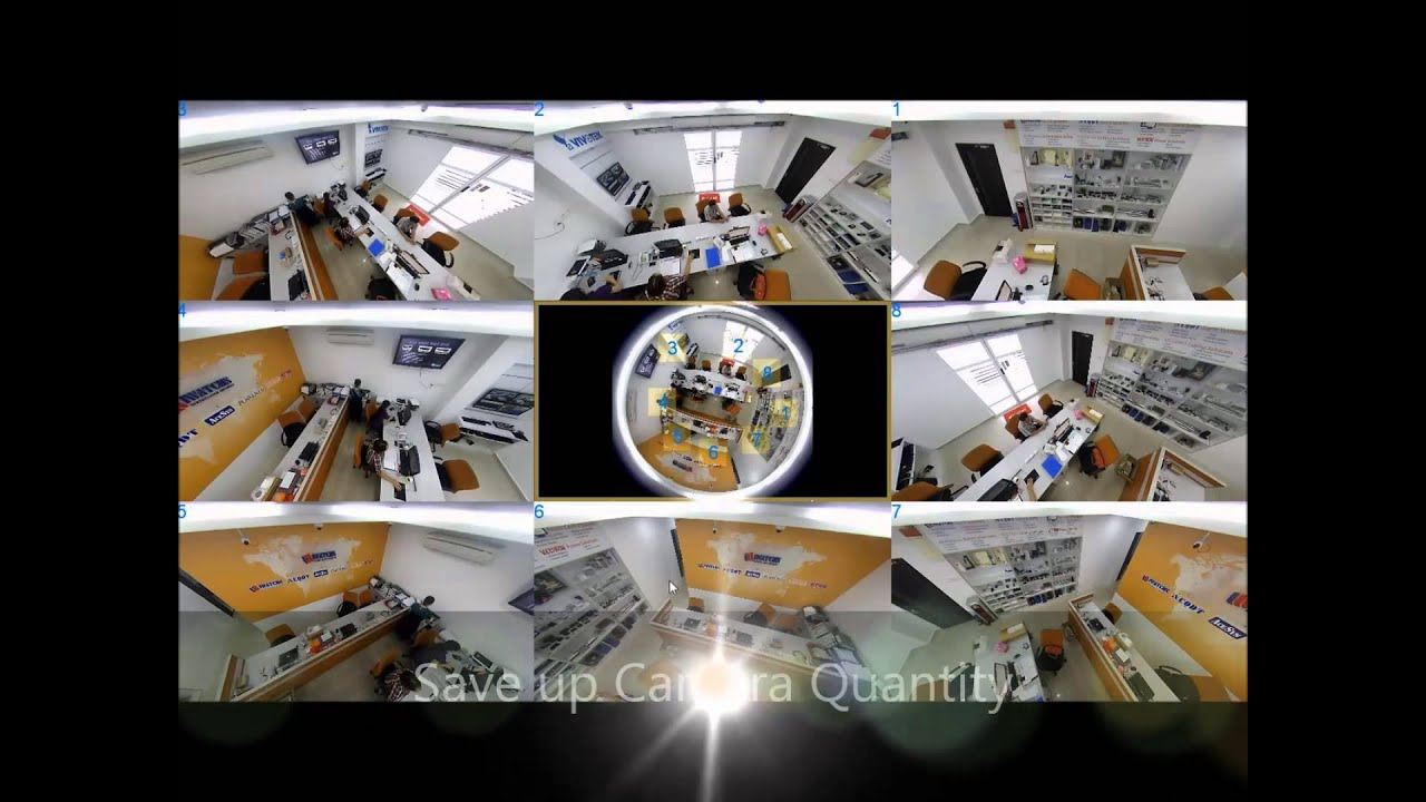 VIVOTEK Fisheye Solution - YouTube