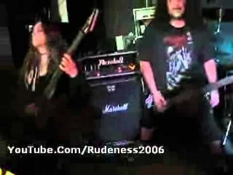 """CURSED - """"Breed ( Like Rats ) Vio-Lence cover"""" Vallejo 5/23/2015"""