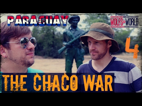The gran Chaco War. the green Hell.   Paraguay and Bolivia,  was it about Oil?