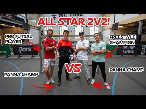 All Star 2v2! Street Panna + Brian Mengel VS Liicht and PWG!!!