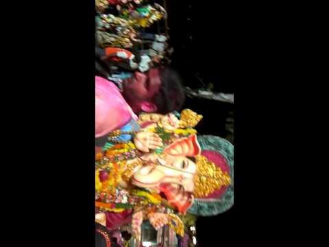 Slum boys Ganesh imression 2016...