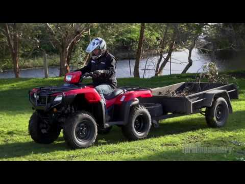 Honda TRX500FM2 ATV