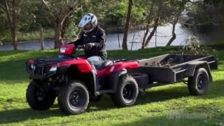 Review Honda TRX500FM2 ATV