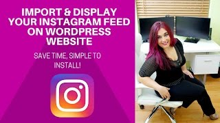 WOW! Import Your Instagram Feed on Wordpress Website | DIVI TUTORIAL