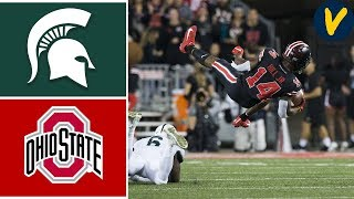 #25 Michigan State vs #4 Ohio State | Week 6 | College Football Highlights | 2019