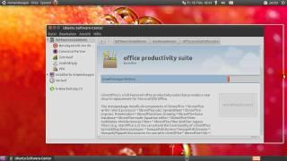 Ubuntu - LibreOffice über Software-Center installieren (ab 10.04)