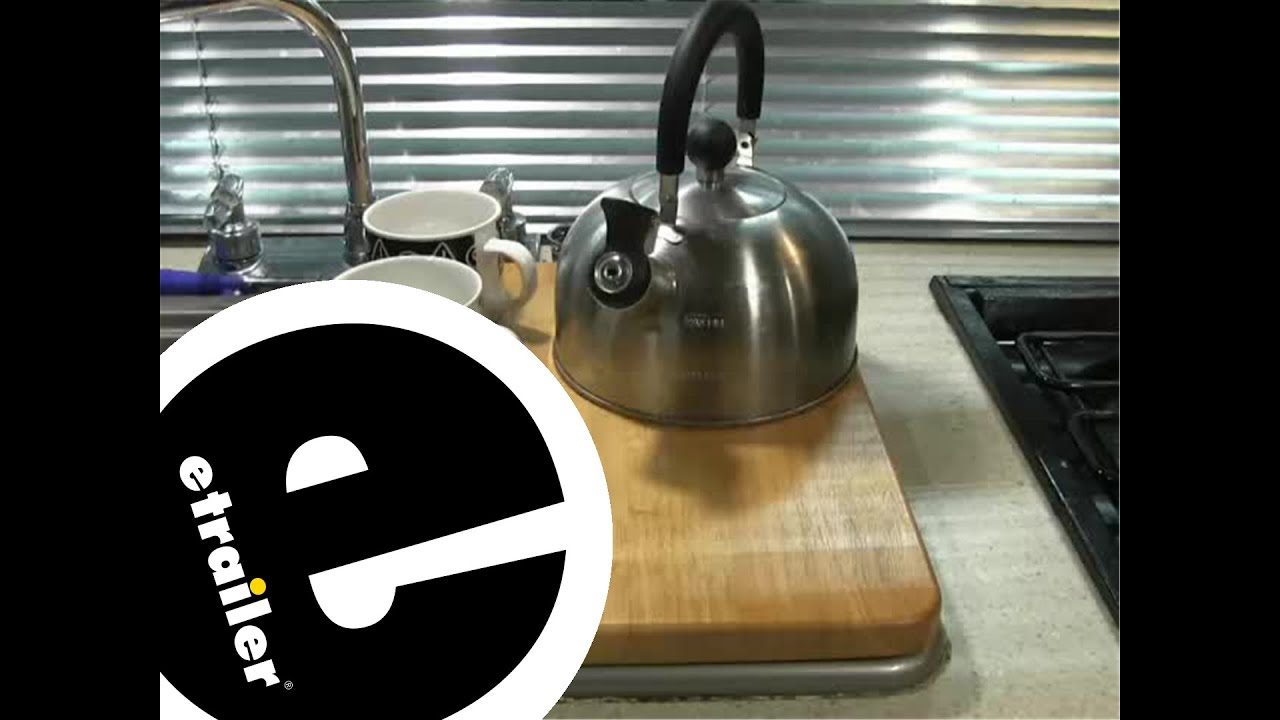 review of the camco oak accents rv sink cover - etrailer - youtube