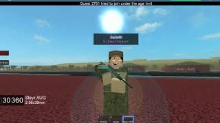 ROBLOX Australian Military My memories