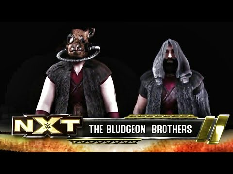 WWE 2K18 The Bludgeon Brothers Entrance...