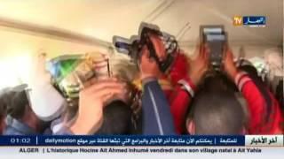 جنازة مليونية للزعيم التاريخي حسين آيت أحمد