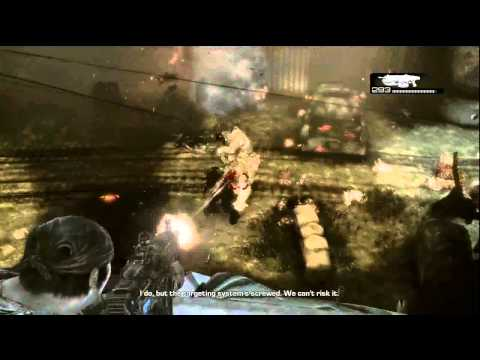 Gears Of War 3 Walkthrough HD Part 21: Defending the fort