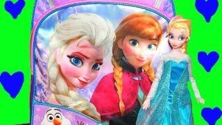 surprise backpack frozen elsa disney princess anna shopkins 2 playset toys video